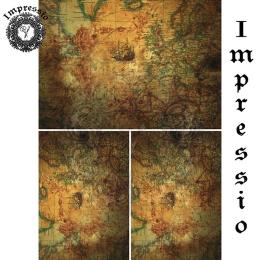 14423. Декупажная карта  Impressio, плотность 45 г/м2
