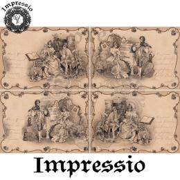 14424. Декупажная карта  Impressio, плотность 45 г/м2