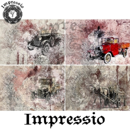 14472. Декупажная карта  Impressio, плотность 45 г/м2