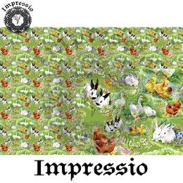 14487. Декупажная карта  Impressio, плотность 45 г/м2