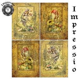 14494. Декупажная карта  Impressio, плотность 45 г/м2