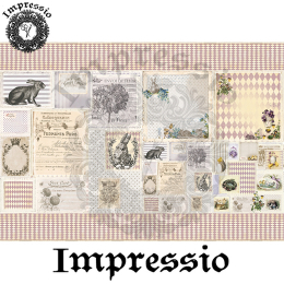 14538. Декупажная карта  Impressio, плотность 45 г/м2
