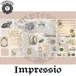 14541. Декупажная карта  Impressio, плотность 45 г/м2