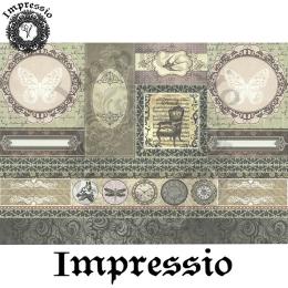 14543. Декупажная карта  Impressio, плотность 45 г/м2