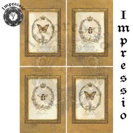 14563. Декупажная карта  Impressio, плотность 45 г/м2