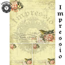 14626. Декупажная карта  Impressio, плотность 45 г/м2