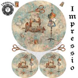 14627. Декупажная карта  Impressio, плотность 45 г/м2