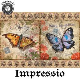 14643. Декупажная карта  Impressio, плотность 45 г/м2
