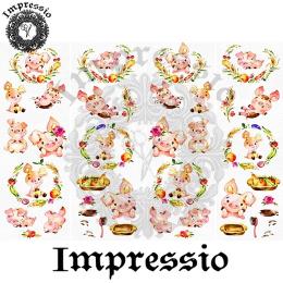 14785. Декупажная карта  Impressio, плотность 45 г/м2