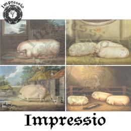 14806. Декупажная карта  Impressio, плотность 45 г/м2