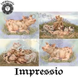 14808. Декупажная карта  Impressio, плотность 45 г/м2