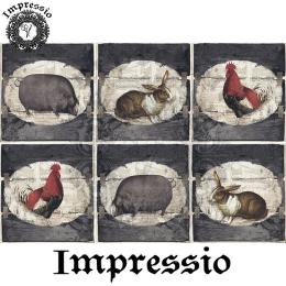 14813. Декупажная карта  Impressio, плотность 45 г/м2