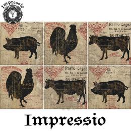 14814. Декупажная карта  Impressio, плотность 45 г/м2