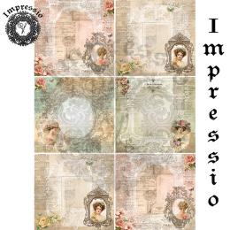 14846. Декупажная карта  Impressio, плотность 45 г/м2