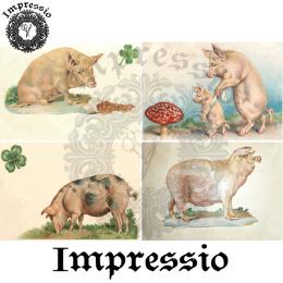 14981. Декупажная карта Impressio, плотность 45 г/м2