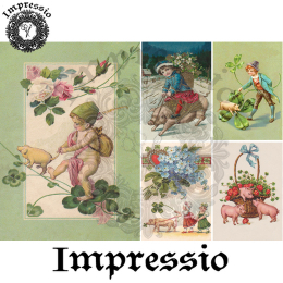 14982. Декупажная карта Impressio, плотность 45 г/м2