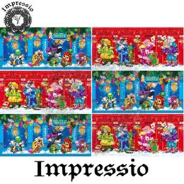 15037. Декупажная карта Impressio, плотность 45 г/м2