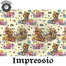 15056. Декупажная карта Impressio, плотность 45 г/м2