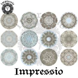15072. Декупажная карта Impressio, плотность 45 г/м2