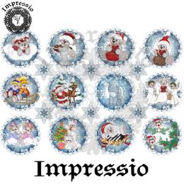 15077. Декупажная карта Impressio, плотность 45 г/м2