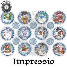 15081. Декупажная карта Impressio, плотность 45 г/м2