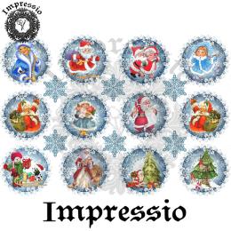 15082. Декупажная карта Impressio, плотность 45 г/м2