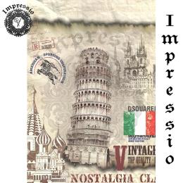 15130. Декупажная карта Impressio, плотность 45 г/м2