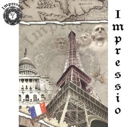 15131. Декупажная карта Impressio, плотность 45 г/м2