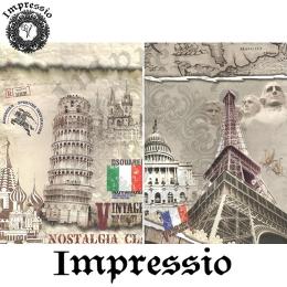 15132. Декупажная карта Impressio, плотность 45 г/м2