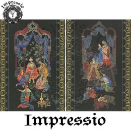 215162. Рисовая декупажная карта Impressio. 25 г/м2
