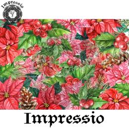 215182. Рисовая декупажная карта Impressio. 25 г/м2