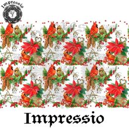 215195. Рисовая декупажная карта Impressio. 25 г/м2