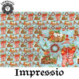 215197. Рисовая декупажная карта Impressio. 25 г/м2