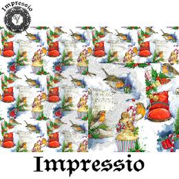 215198. Рисовая декупажная карта Impressio. 25 г/м2