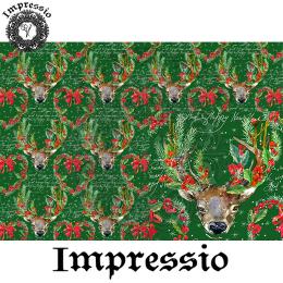 215199. Рисовая декупажная карта Impressio. 25 г/м2