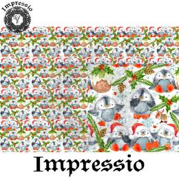 215200. Рисовая декупажная карта Impressio. 25 г/м2