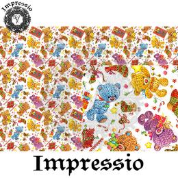 215201. Рисовая декупажная карта Impressio. 25 г/м2