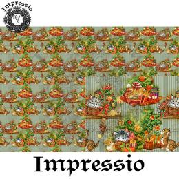 215202. Рисовая декупажная карта Impressio. 25 г/м2