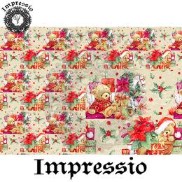 215203. Рисовая декупажная карта Impressio. 25 г/м2