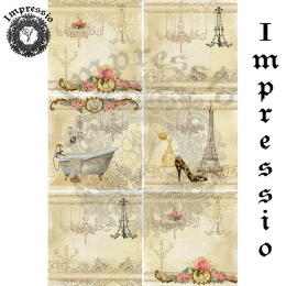 15237. Декупажная карта Impressio, плотность 45 г/м2