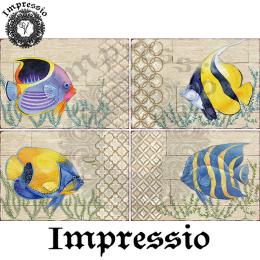 15340. Декупажная карта Impressio, плотность 45 г/м2