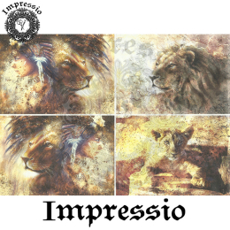 15350. Декупажная карта Impressio, плотность 45 г/м2