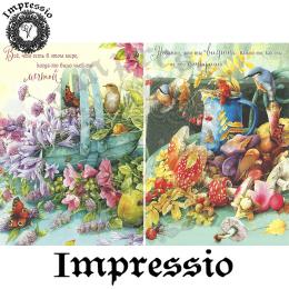 15376. Декупажная карта Impressio, плотность 45 г/м2