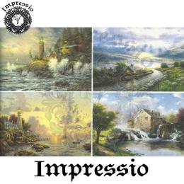15380. Декупажная карта Impressio, плотность 45 г/м2