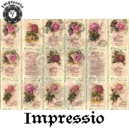 15382. Декупажная карта Impressio, плотность 45 г/м2