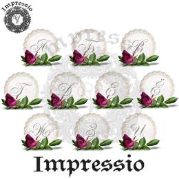 15398. Декупажная карта Impressio, плотность 45 г/м2