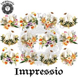 15411. Декупажная карта Impressio, плотность 45 г/м2