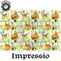 15414. Декупажная карта Impressio, плотность 45 г/м2