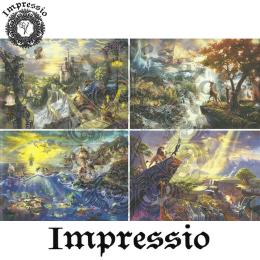 15457. Декупажная карта Impressio, плотность 45 г/м2