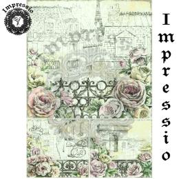15709. Декупажная карта Impressio, плотность 45 г/м2